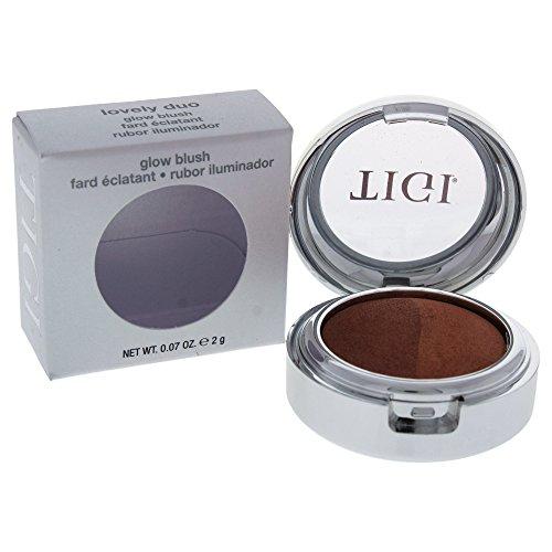 (TIGI Cosmetics Glow Blush, Lovely Duo, 0.071 Ounce)