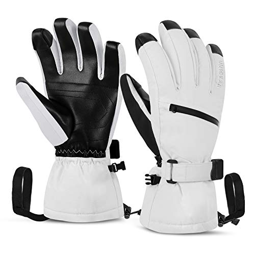white insulated gloves - 4