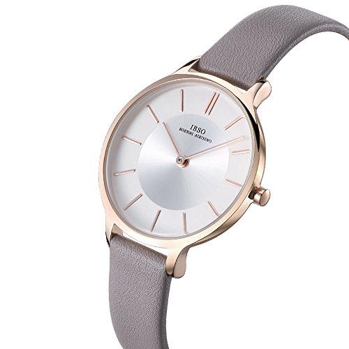061620801 Amazon.com: Women Watches Leather Strap Round Case Analog Fashion Ladies  Watch on Sale Mesh Bracelet Watch (6608 Grey): Watches