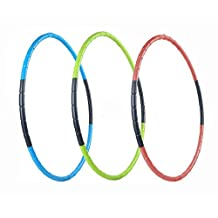 Hula Hoop for Fitness, 8-segmented, Workout for Students and Kids, Exercise, Weight Loss and Perfect Body, 70CM (27.6 inch)