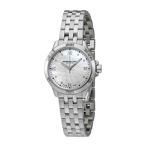 Raymond Weil Women's Swiss Quartz Stainless Steel Casual Watch, Color:Silver-Toned (Model: ()