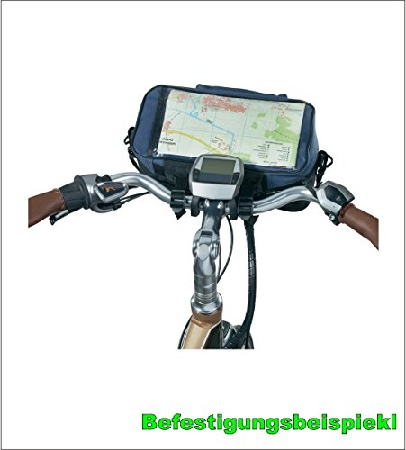 Happy Cyclist Lenkertasche mit Kartenhalter wassedicht Fahrrad Tasche - 01170604