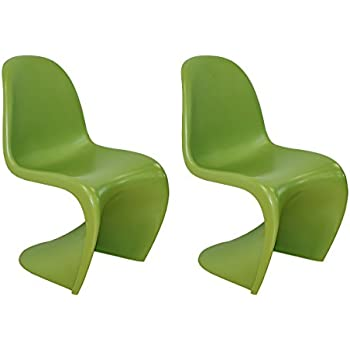 Amazon.com: Poly y corteza silla Panton S: Kitchen & Dining