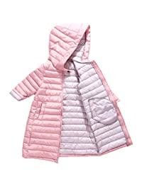 Happy Cherry Kids Hooded Padded Jacket Toddler Windproof Snow Coat Puffer Overcoat