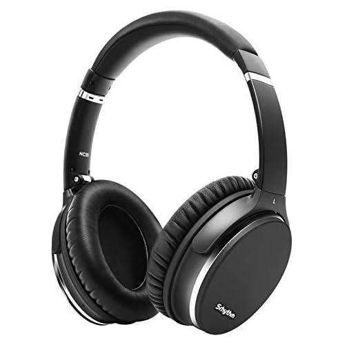 chollos oferta descuentos barato Plegable Auriculares Inalámbricos con Cancelación de Ruido Bluetooth 5 0 Srhythm NC35 ANC Over Ear con Tipo C Carga Rápida CVC8 0 Mic Llamada de Voz Mega Bass 40 Horas de Tiempo de Juego