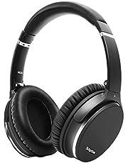 Noise Cancelling Koptelefoon Bluetooth 5.0,Lichtgewicht, Opvouwbaar,Srhythm NC35 Draadloze Hoofdtelefoon Over-ear met 40h+ batterij,CVC8.0 Microfoon,USB-C Snellaadfunctie,Spraakoproep