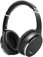 Brusreducerande Trådlösa Hörlurar Bluetooth 5.0, Srhythm NC35 Lätt Over-ear hörlurar med CVC8.0-mikrofon,Type-C Snabb...