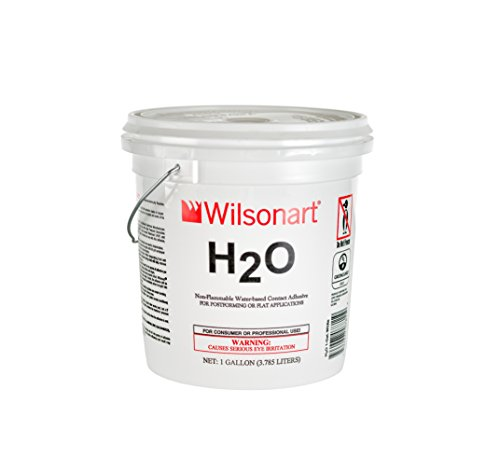 Wilsonart H2O Water-Based Low VOC Nonflammable Contact Adhesive - 1 Gallon (Neoprene Seal Cement)