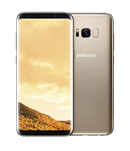 Samsung Galaxy S8+ Plus SM-G955FD 64GB Dual Sim Unlocked Phone -US/Latin America Version (Maple Gold)