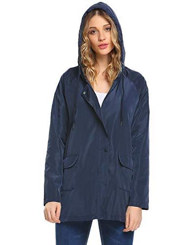 Outdoor Manteau Coupe Solide vent Couleur Capuche Beaucoup Couleurs Marineblau Veste Trenchcoat Capuchon À De Léger x1qw1XUA