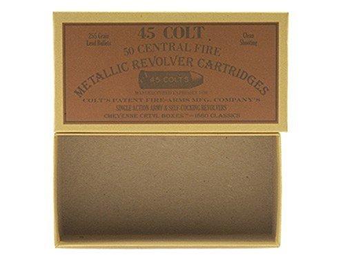 Cheyenne Pioneer Cartridge Box 45 Colt (Long Colt) Chipboard Pack of 5