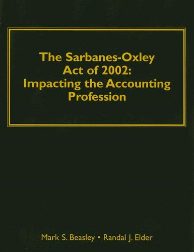 Understanding Sarbane-Oxley Act of 2002: Impacting the Accounting Profession