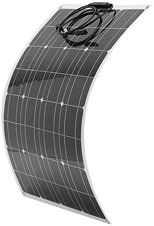 80W 18V Solarmodul Solarpanel Monokristallin Solarzelle Photovoltaik Solarladegerät Solaranlage mit MC4 Ladekabel für Laden von Camping-Auto-Boote
