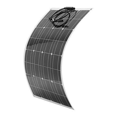 dccaf331fa38 Galapara 80 Watt Flexible Solar Panel 18V 12V Portable Monocrystalline  Silicon Solar Cell Charger Waterproof Bendable Thin Lightweight Power  Charger ...