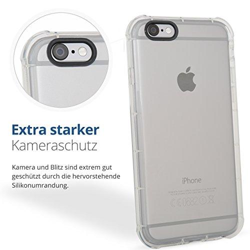 Stoßfeste Schutzhülle Durchsichtig Cover Bumper Hülle Case … (iPhone 7)