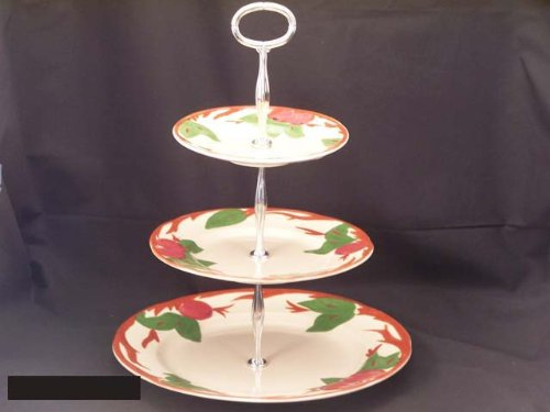 Franciscan Apple Hostess Tray 3 Tier