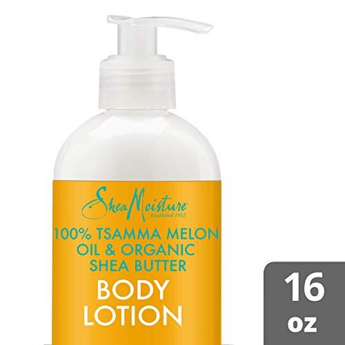 SheaMoisture Tsamma Melon Oil & Organic Shea Butter Body Lotion, 16 Ounces
