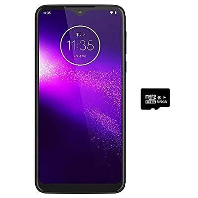"Motorola Moto One Macro (64GB, 4GB) 6.2"", Macro Vision Camera (5X Closer) Dual SIM GSM Unlocked (at&T/T-Mobile/MetroPCS/Cricket/H2O) XT2016-2 International Model"