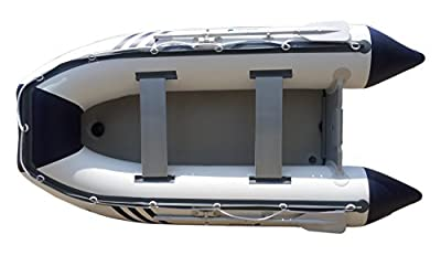 Newport Vessels Santa Cruz Air Mat Floor Inflatable Tender Dinghy Boat (10-Feet)
