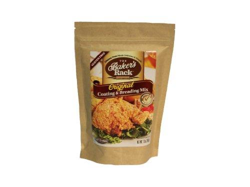 - Baker's Rack Gluten Free Original Breading Mix, 12 Ounce