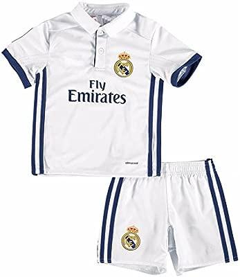 2016 Real Madrid CF personalizada Nombre y Número Home para niños ...