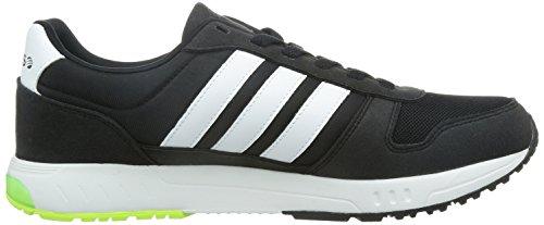 Adidas City Runner - F98738 Bianco-nero-verde