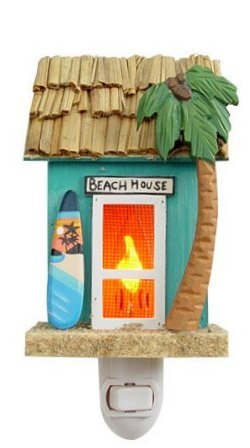 Tropical Beach House Night Light
