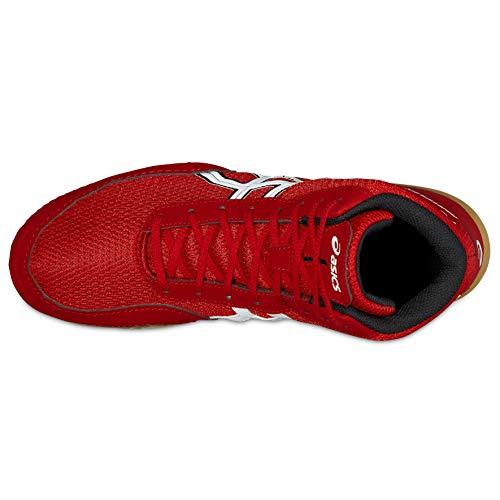 De Lutte Asics Chaussures Mixte Matflex Rouge 5 9093 J504n Adulte wBqAPXaq