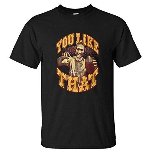 MVYE Men's Kirk Cousins You Like That Icon T Shirt Organic Cotton black L