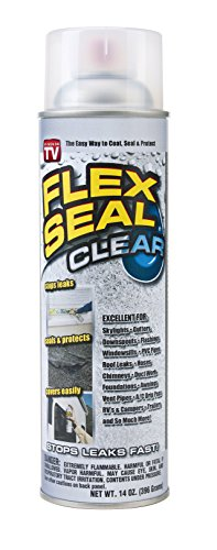 Frisco Spray (Flex Seal Spray Rubber Sealant Coating, 14-oz, Clear)