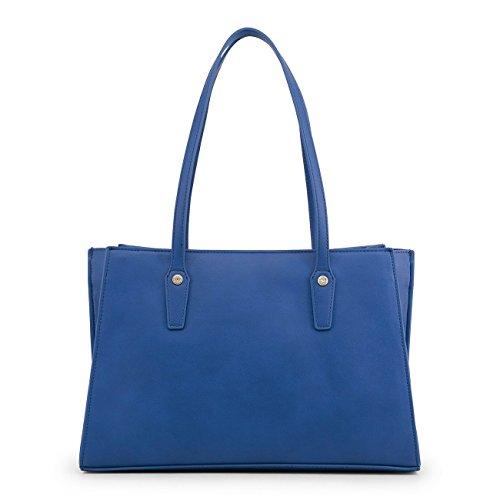 cabas bleu Sac main Love Moschino à xqRH8nw71E