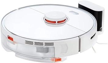 Roborock S5 Max Saugroboter mit Wischfunktion (Saugleistung 2000Pa, 2,5 Std Akkulaufzeit, App und Sprachsteuerung, Hindernisüberwindung, Intelligente