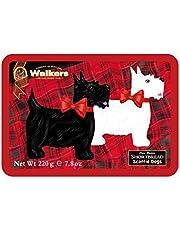 Walkers Shortbread Tin, Scottie Dog, 7.8 Ounce by Walkers