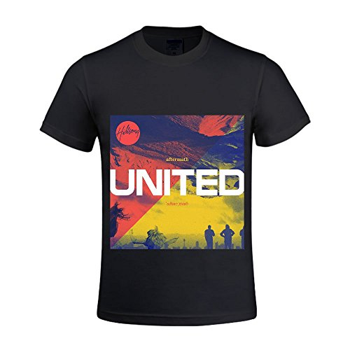Hillsong United Aftermath Men Tee Crew Neck Black