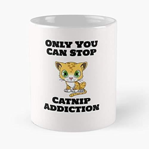 Catnip Cat Nip Knip - Handmade Funny 11oz Mug Best Birthday Gifts For Men Women Friends Work Great Holidays Day Gift