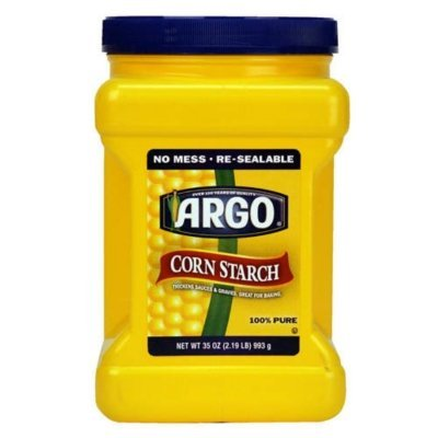 ARGO Cornstarch - 35oz - CASE PACK OF 2 by ARGO Cornstarch