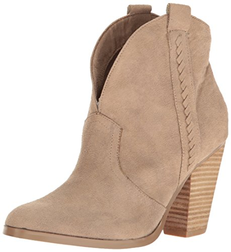 Report Women's Doman Ankle Bootie, Taupe, 7.5 M US