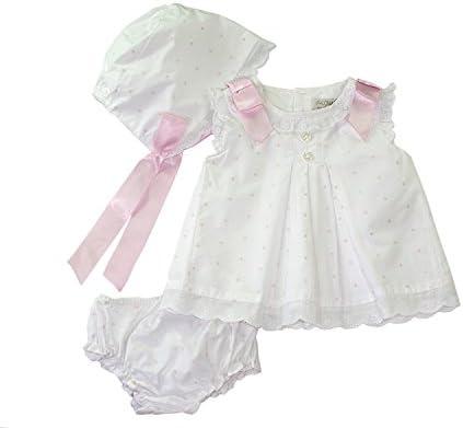 Conjunto de traje de fiesta para ni ntilde;as bebés Conjunto de vestido de bautizo de bautizo Conjunto de vestido de día