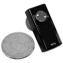 Champion CWP-BT-C100 C100 Mini Hands-Free Bluetooth Wireless Technology Headset - Carrier Packaging - Black