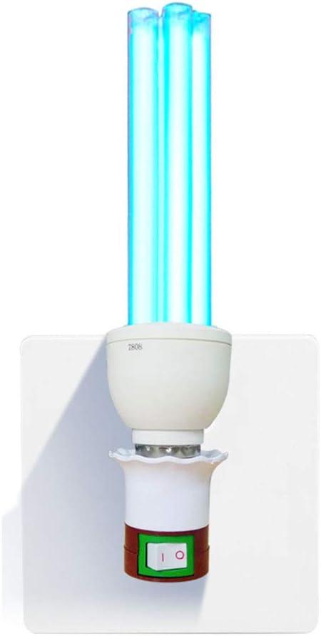 Desinfektionslampe UVC Sterilisation Entkeimungslampe Ultraviolett-Keimt/ötende Desinfektion Lampe Sterilisator Licht Antibakterielle Sterilisationsrate 99/% f/ür Den Heimtierbereich Im Auto