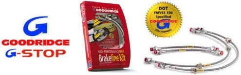 Goodridge Stainless Steel Brake Line Kit for Honda S2000 00-03;4 Line;All Models