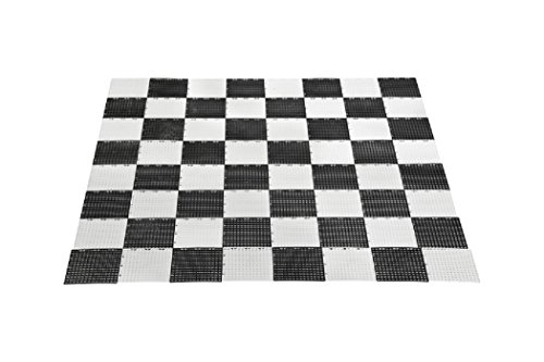 Uber Games Garden Checkers and Chess Game Board - Plastic by Uber Games