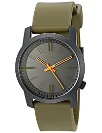 Rip Curl Men's A2698-AMB Cambridge ABS Silicone Analog Display Analog Quartz Olive Green Watch
