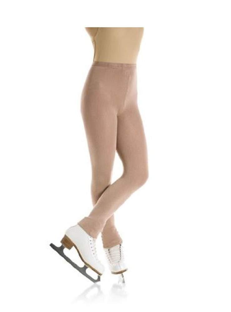 Mondor 3373 Footless Natural Figure Skating Tights - Light Tan - XL-XG by Mondor