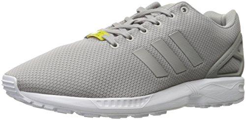 Originaler Adidas Mens Zx Fluks Joggesko Lys Granitt / Lys Granitt / Kjerne Hvit