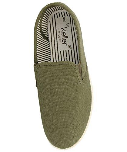 Para Hombre Dr Chico Tacón Zapatos Kelleryacht Caqui De qSw4pI