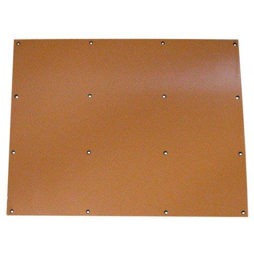 CLASSIC 19 x 23.75 Drilled Phenolic Kickback Plate DBA179858P