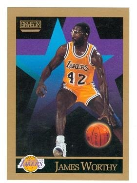 4d7bc35e192 Image Unavailable. Image not available for. Color  James Worthy basketball  card (Los Angeles Lakers ...