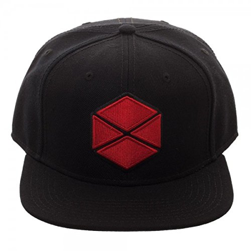 b918bb961fe52 Image Unavailable. Image not available for. Color  Destiny 2 Titan Logo  Core Line Black Adjustable Snapback