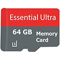 Essential ULTRA 64GB ZTE Sonata 3 Smartphone MicroSDXC Card with custom format for Hi-Speed Lossless certified recording! With SD Adapter. (Class 10, up to 500x or 70MB/sec)